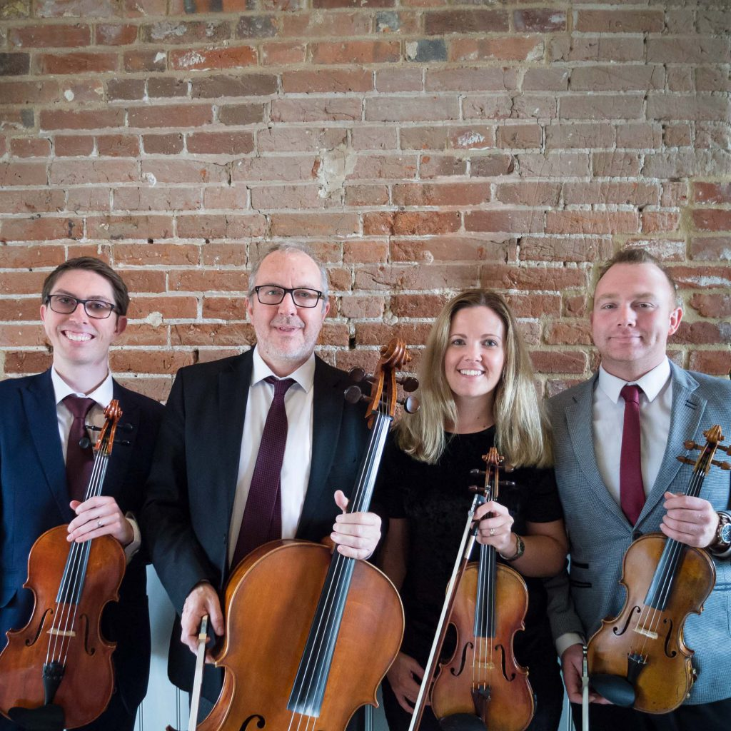 Kavolini String Quartet at venue