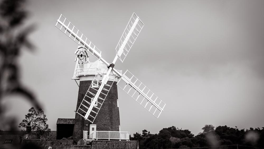 Cley Windmill is a wedding venue near Blakeney and Wells-next-the-sea in North Norfolk.