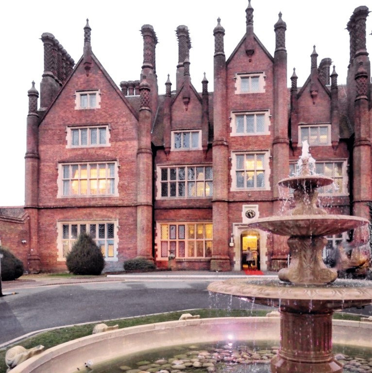 Front of Dunston Hall Hotel