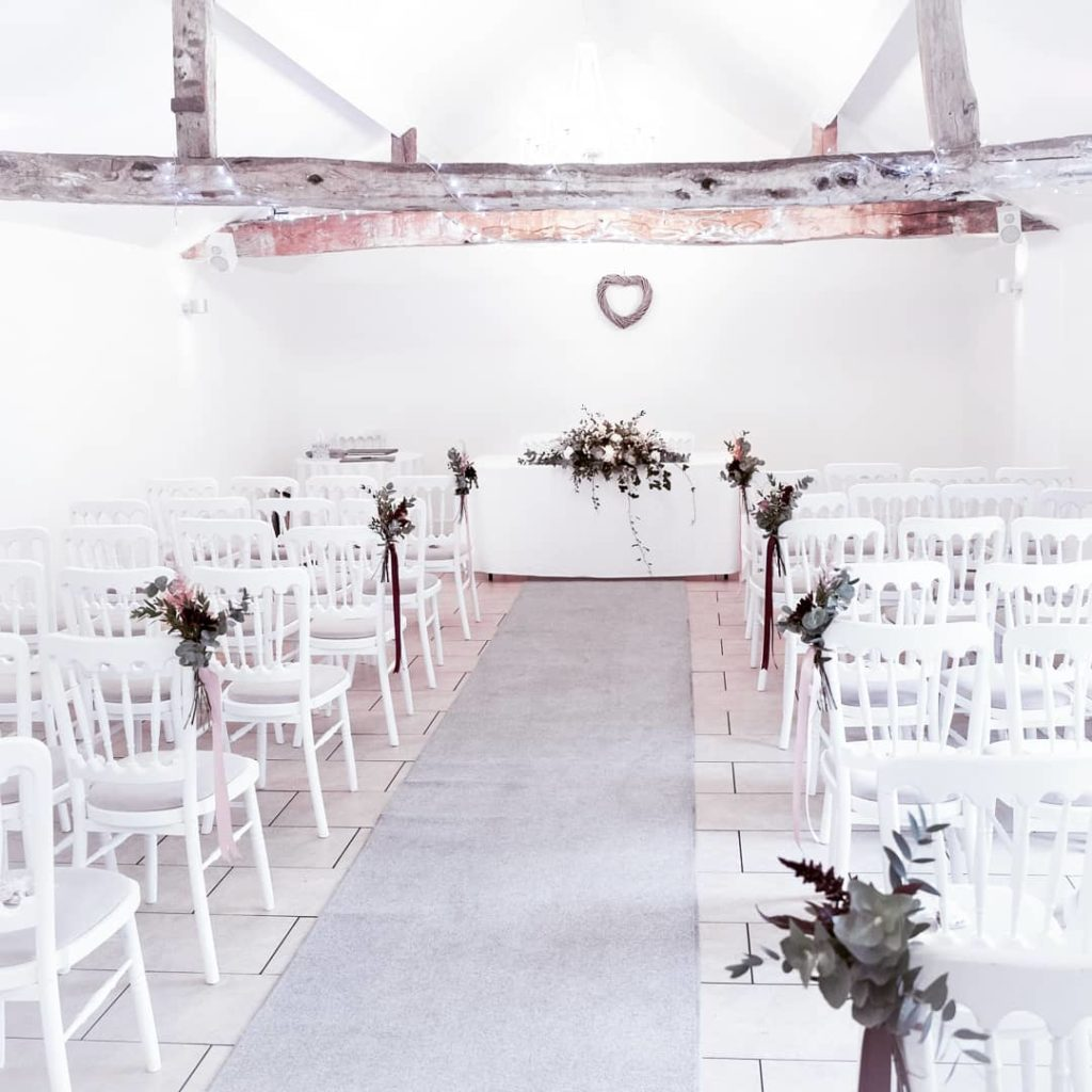 The ceremony room