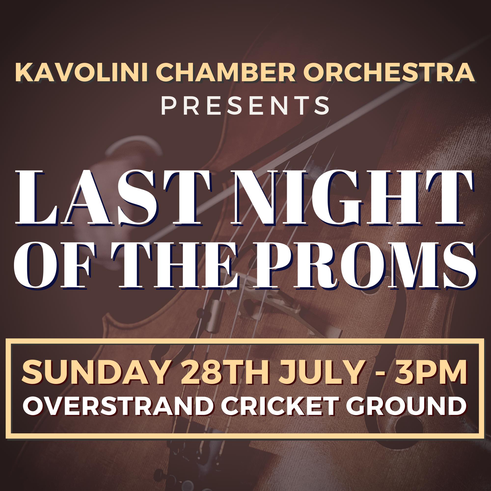 Last Night of Proms Overstrand