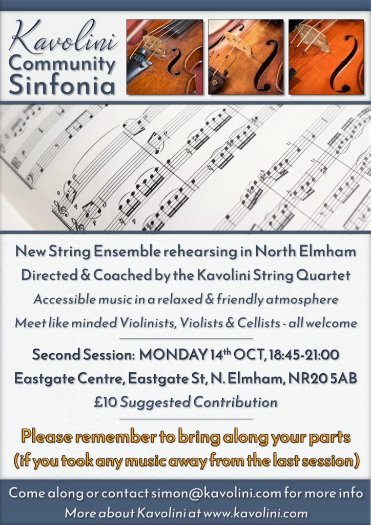 KCS Flyer for October Meeting